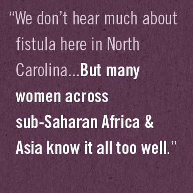 Let's Eradicate Obstetric Fistula and Restore Dignity for Women
